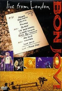 Cover Bon Jovi - Live From London [DVD]